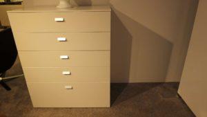 Carre-Furniture Hochkommode Toledo