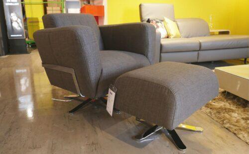 JOOP! Livingroom Lounge-Sessel mit Hocker