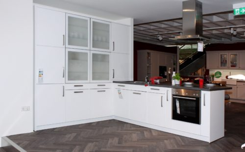 Contur Küchenblock Kristallweiß