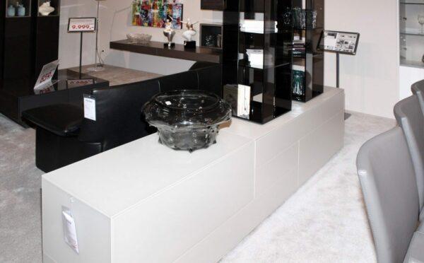 Wöstmann Lowboard mit Aufsatzvitrine NW660 - % Sale