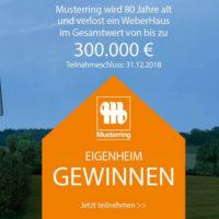 Musterring Gewinnspiel Weberhaus Beitragsbild
