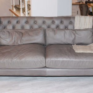 Natura Einrichten Sofa 3-Sitzer Charleston-frontal