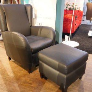 Machalke Sessel mit Hocker, Sergio
