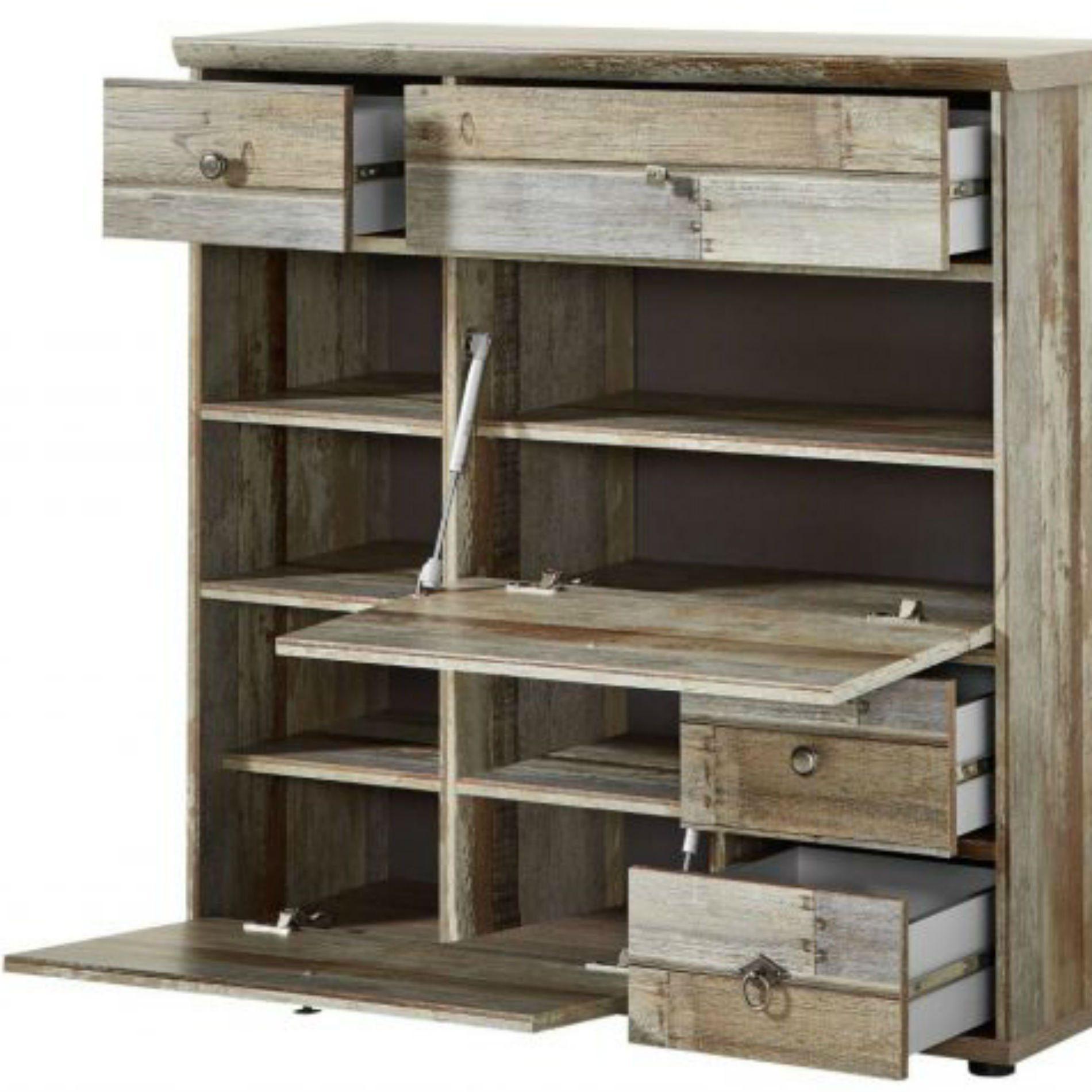Trendstore Ilja Schuhschrank Driftwood Nachbildung Driftwood
