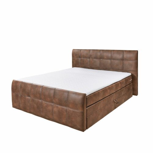 "Trendstore ""Balve"" Boxspringbett light brown ohne Kissenset"