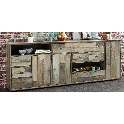 "Trendstore ""Ilja"" Sideboard-in-Driftwood-Nachbildung"