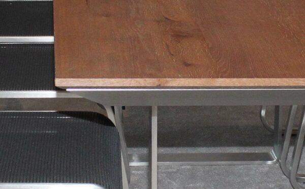 Wöstmann Essgruppe Wutach-Detail-Tischplatte