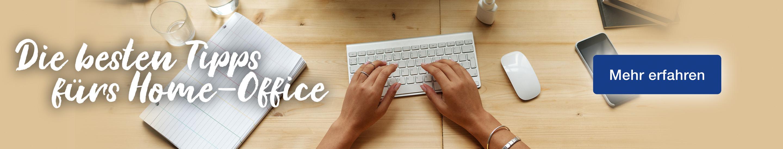 Banner Blogbeitrag Tipps fürs Home Office