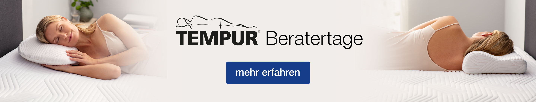 TEMPUR Beratertage Desktop Banner
