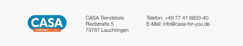 Haus-Info-Banner CASA Trendstore