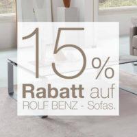 15 Prozent auf Rolf Benz Sofas Vorschaubild