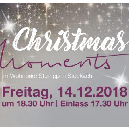Weihnachtskonzert Christmas Moments im Wohnparc Stumpp Vorschau