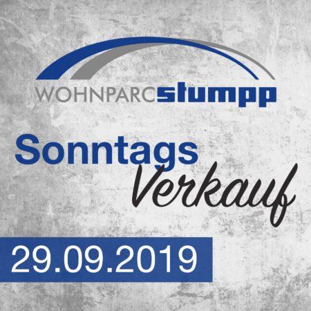Sonntagsverkauf am 29. September 2019 im Wohnparc Stockach