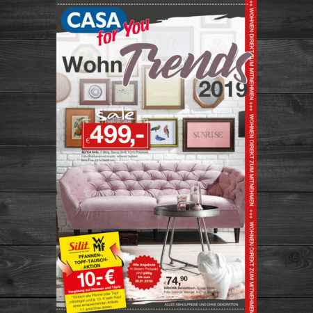 Wohntrends 2019 im CASA for You