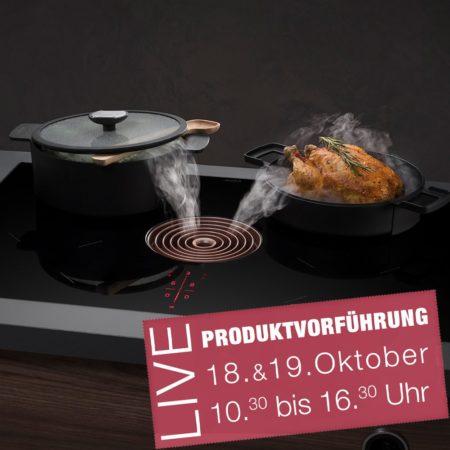 BORA Live Produktvorführung bei Küchen DICK