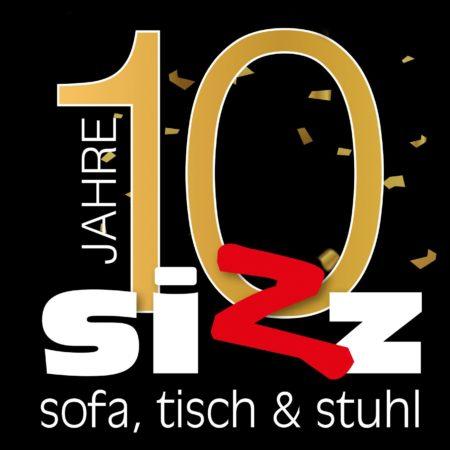10 Jahre Sizz - 10 Prozent Jubiläums-Rabatt auf alles