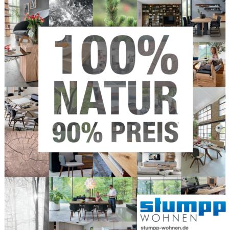 100% Natur 90% Preis