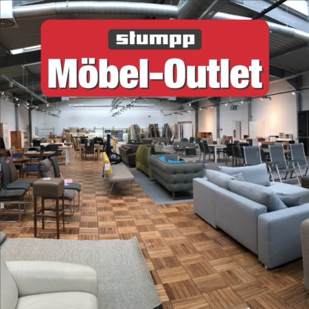 Stumpp Möbel Outlet jeden Freitag und Samstag geöffnet