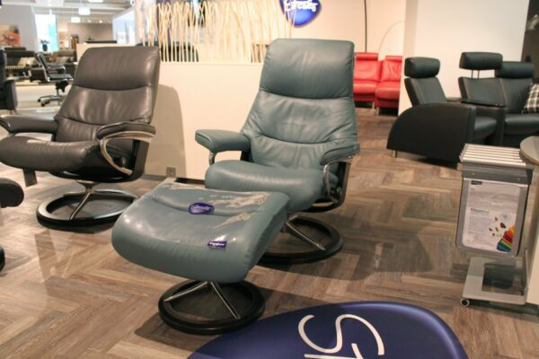 "Stressless ""View"" Sessel mit Hocker"