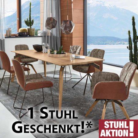 Tolle Stuhl-Aktion: 6 Stühle kaufen, nur 5 bezahlen