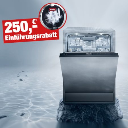 Einführungsrabatt für den Geschirrspüler Miele G 7000