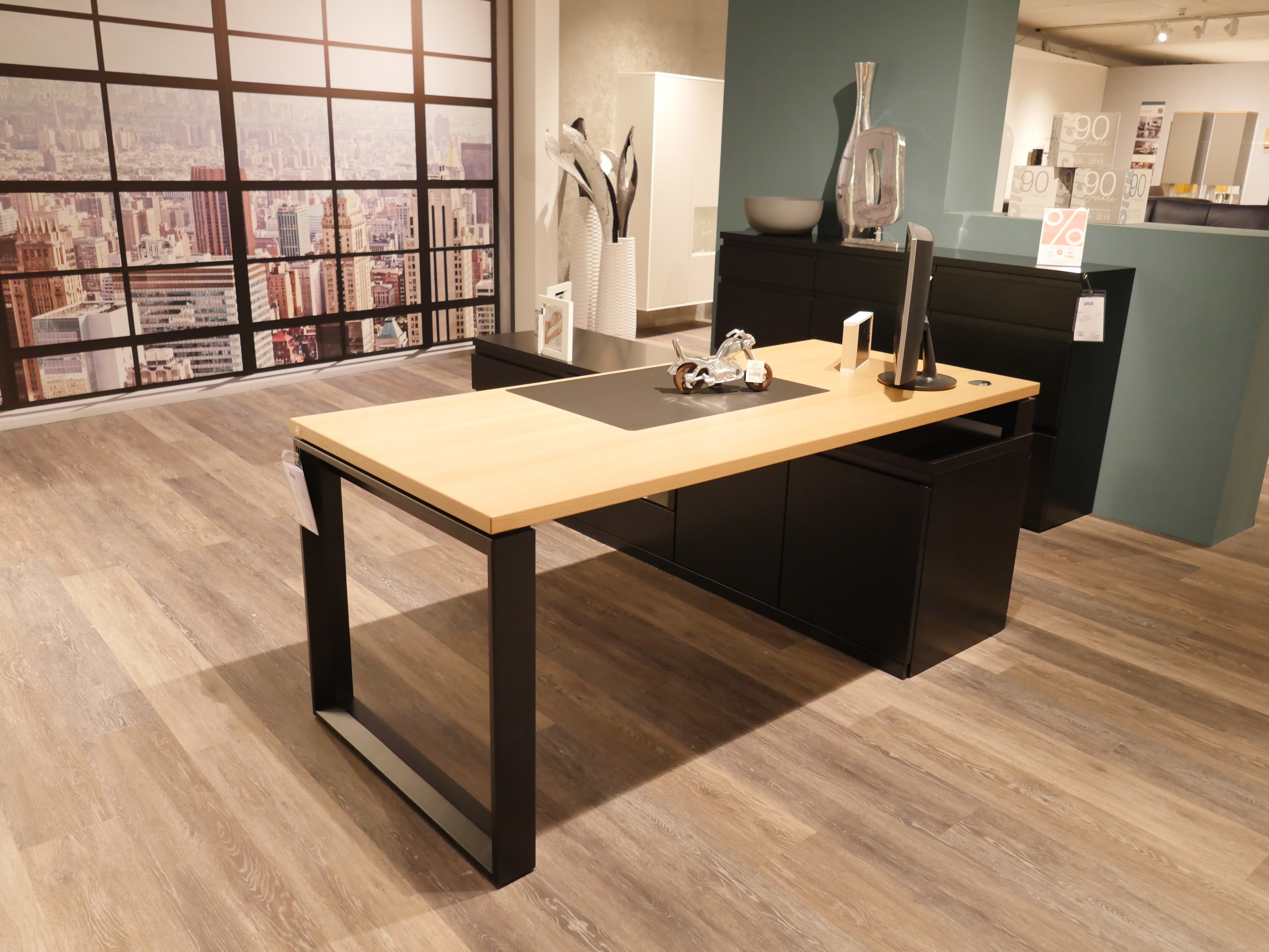 Rietberger Möbelwerke L200 Schreibtischkombi Wohnparcde