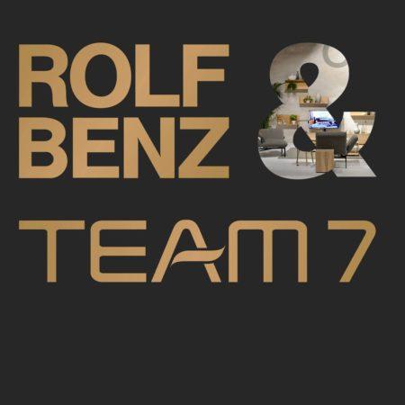 Team 7 und Rolf Benz Bestseller zum Aktionspreis