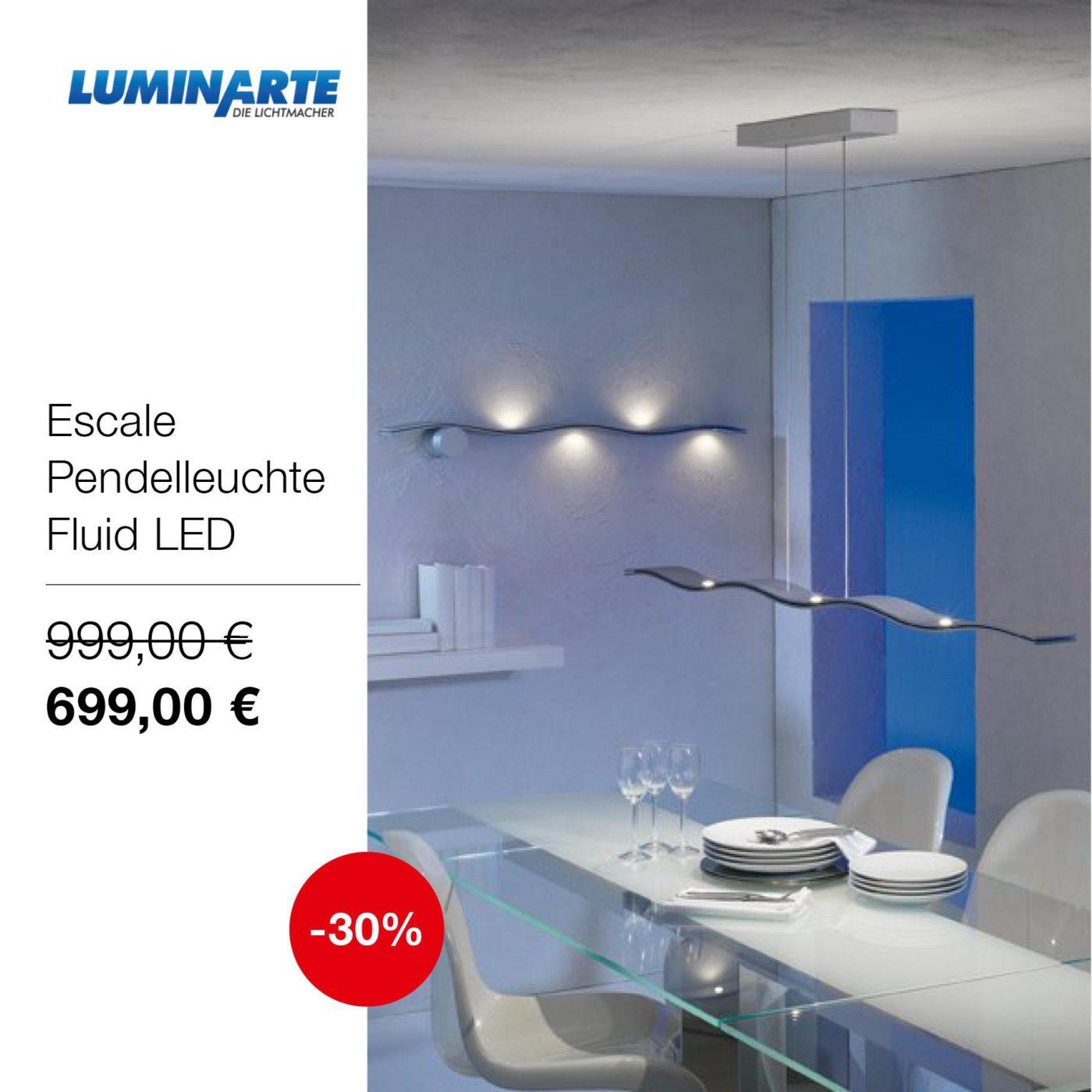 Luminarte-Abverkauf: Tolle Leuchten zu tollen Preisen