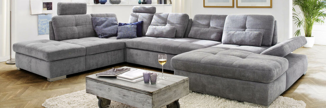 Graue Sofas sind beliebt – und dafür gibt es gute Gründe