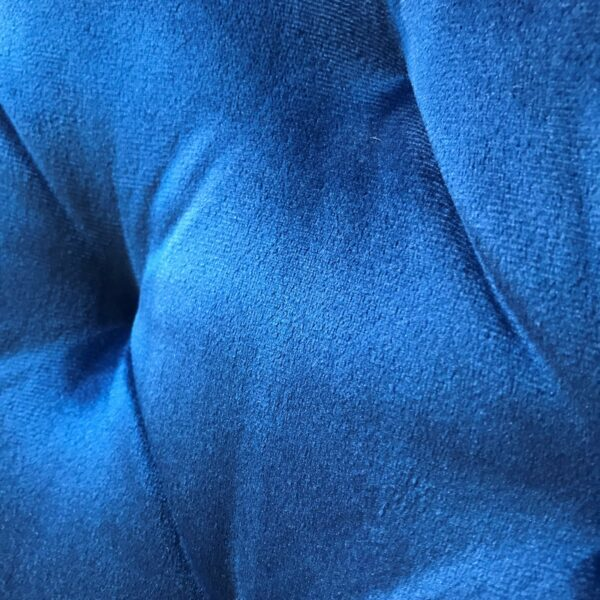 "Trendstore ""Merve"" Stuhl Detail Bezug blau"