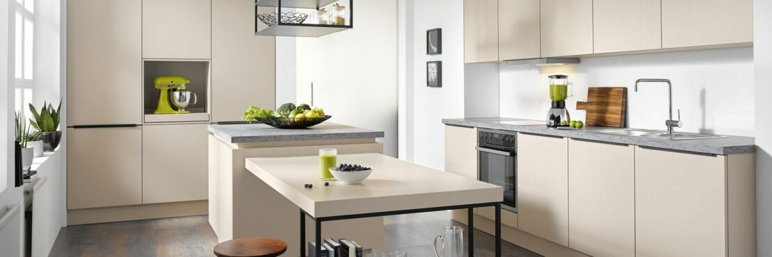 Die minimalistisch eingerichtete Küche: Ideal für Fans klarer Linien