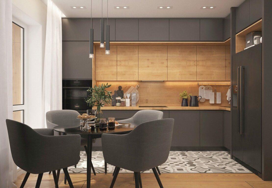Bekannt Holz in der Küche: Ein natürliches Material im Trend - wohnparc.de TY34