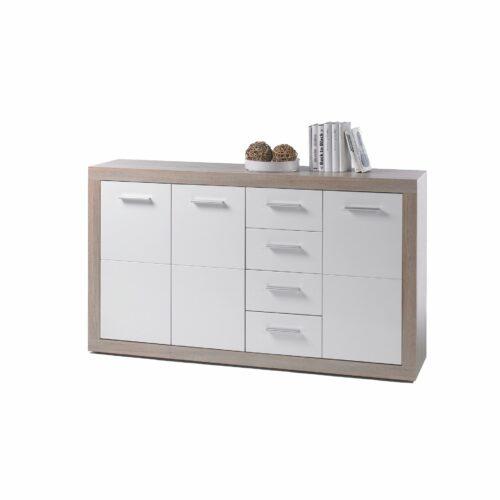 """Trendstore """"Balis"""" Kommode Eiche-Weiß Breite 152 cm"""