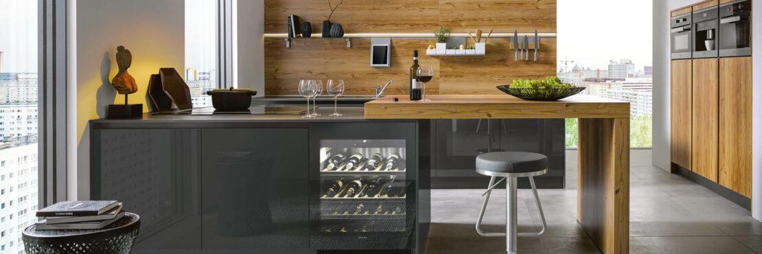 Schöne Küchenrückwände: 4 Alternativen zum Fliesenspiegel ...