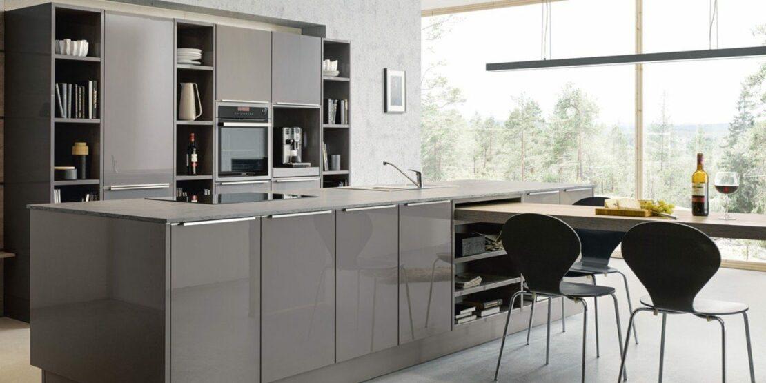 Glänzende oder matte Küchenfronten? Vor- und Nachteile auf ...