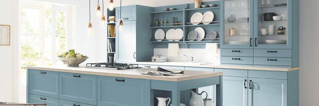 Stilvolle Ideen für mehr Farbe in der Küche
