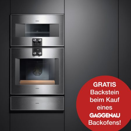 Gaggenau Backofen kaufen & Backstein gratis dazu erhalten
