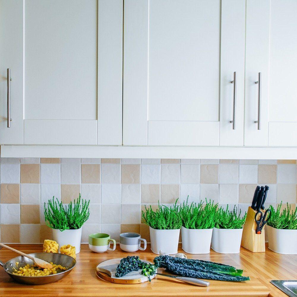 Schöne Küchenrückwände: 18 Alternativen zum Fliesenspiegel
