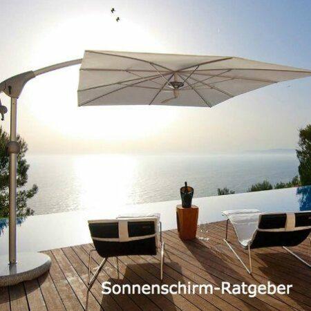 Sonnenschirm-Kauf – auf was müssen Sie achten?