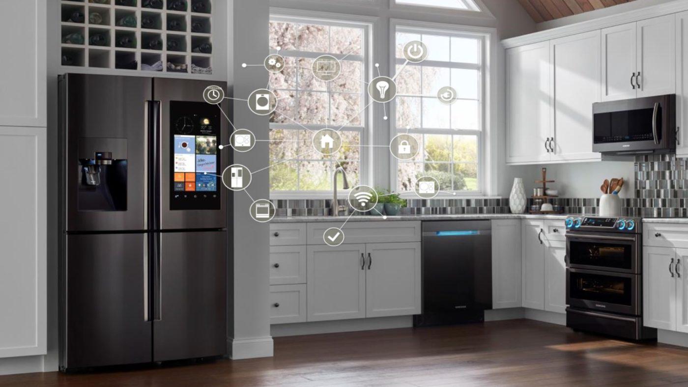 """Smarter Kühlschrank """"Family Hub 2.0"""" von Samsung"""
