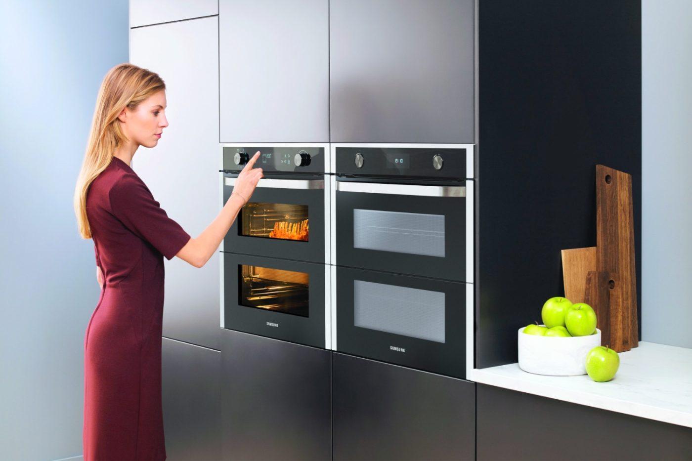 """""""Dual Cook Flex""""-Ofen von Samsung"""