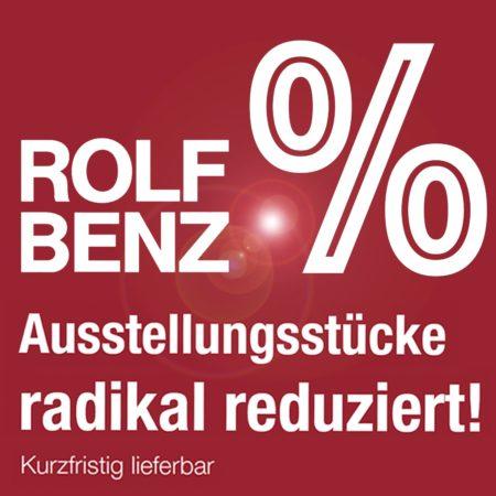 Rolf Benz Ausstellungsstücke wegen Umbau stark reduziert