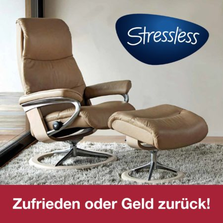 Stressless® kaufen ohne Risiko: Zufrieden oder Geld zurück!