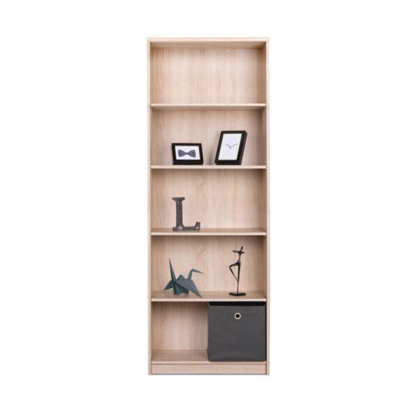 """Trendstore """"Falka"""" Regal, Höhe 188 cm, Dekor Sonoma Eiche Nachbildung, mit Dekoration"""