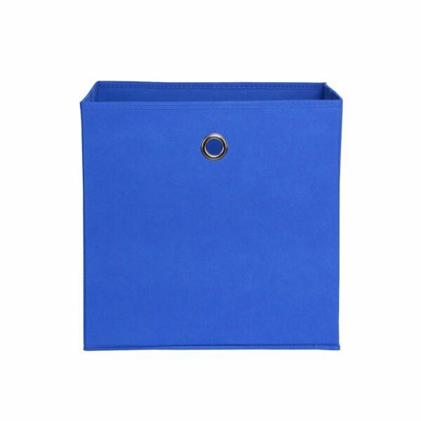 "Trendstore ""Fierra"" Stoffbox, blau, frontal"