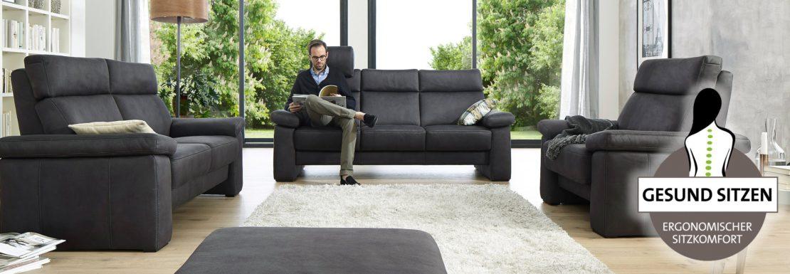 Gesundes und bequemes Sitzen auf modernem Design