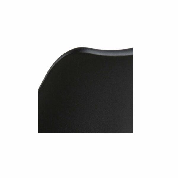 """Trendstore """"Dima"""" Barhocker, Rückenlehne, Kunststoff schwarz"""