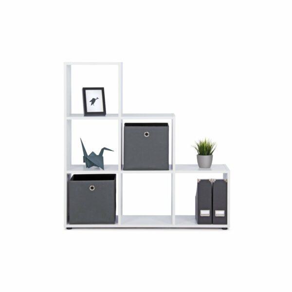 """Trendstore """"Fiette"""" Raumteiler, frontal, Farbe Weiß, mit Deko"""