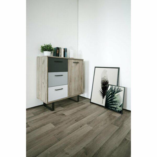 "Trendstore ""Fred"" Kommode, Ambiente 1, Dekor Grey Craft Oak / Farbmix"