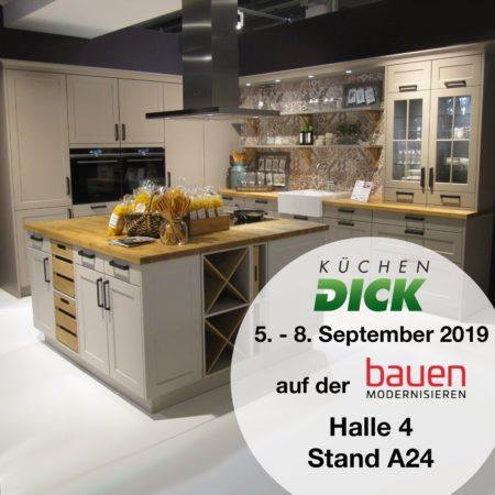 Wir sind dabei: Bauen & Modernisieren Messe in Zürich